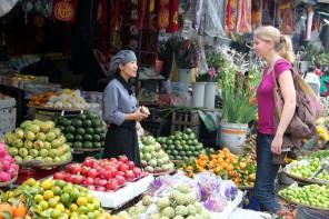Hue Vietnam Markt