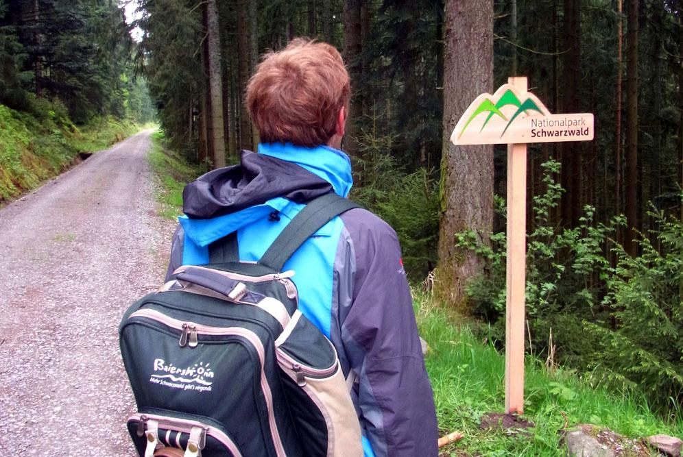 Baiersbronn Nationalpark Schwarzwald Geniesserrucksack