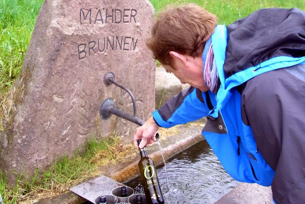 Baiersbronn Maehder Wein Brunnen