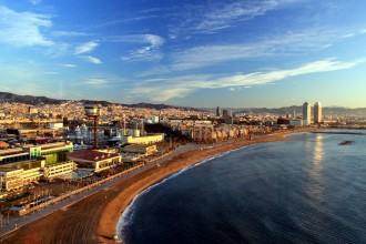 W Barcelona Luxus Hotel Ausblick