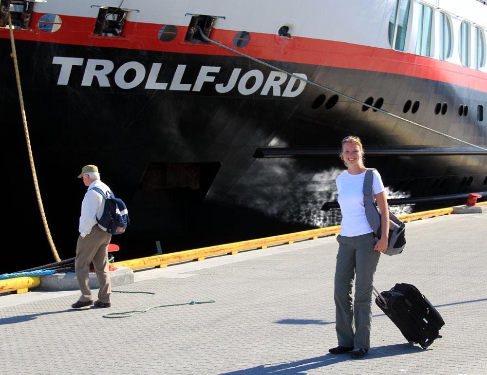 Hurtigruten_Einschiffung