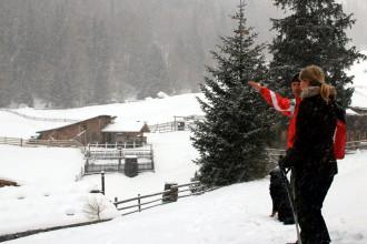 Schenna Schneeschuhwanderung