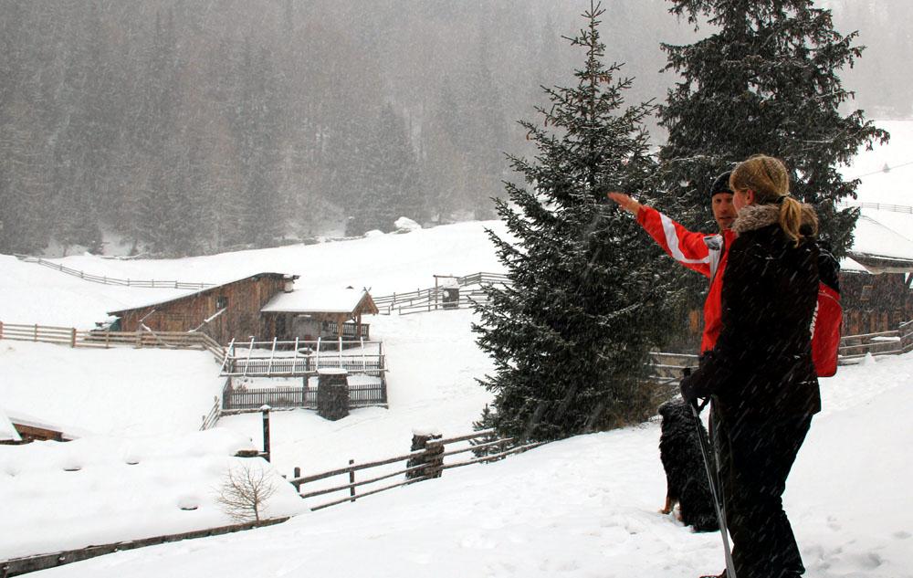 Schenna_Schneeschuhwanderung