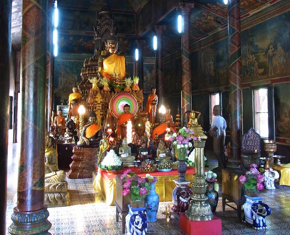Tempelberg Phnom Penh
