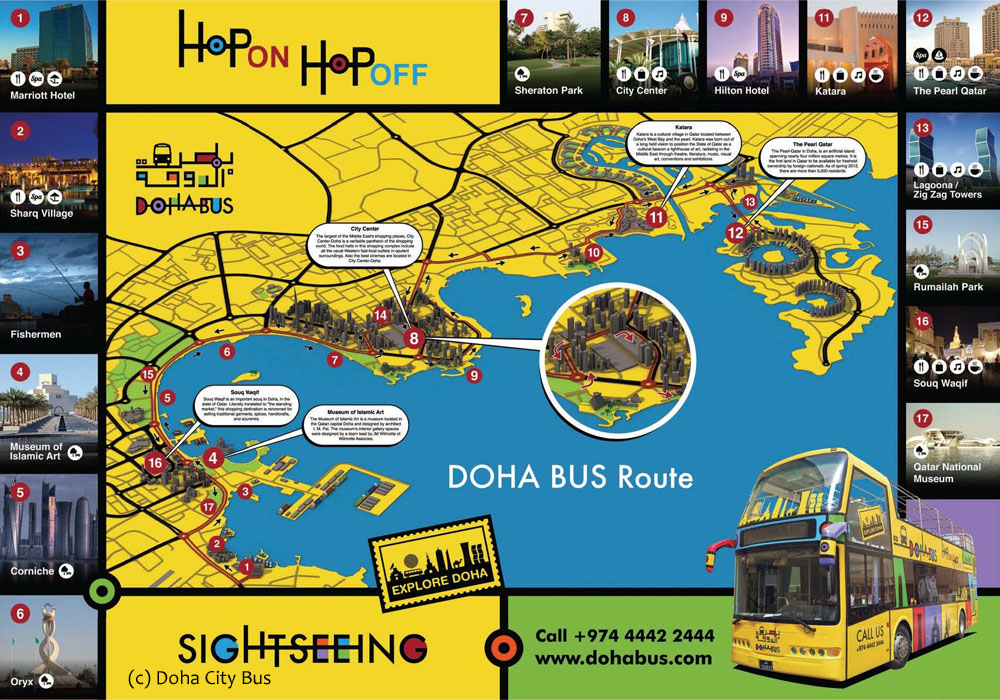 Doha City Bus