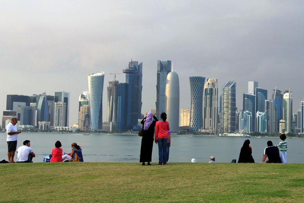 Doha - Panoramablick