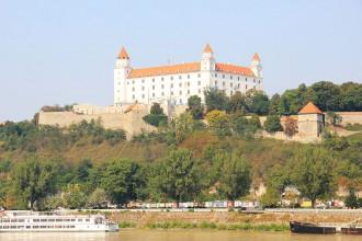 Burg in Bratislava - Slowakei