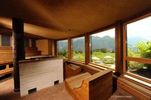 Wellnessresidenz Schalber_Panorama-Sauna