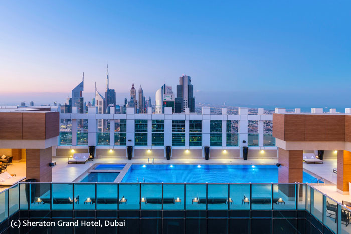 Sheraton Grand Dubai_Rooftop-pool