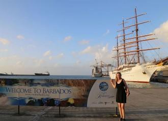 Die Sea Cloud iI startet ihre Karibik-Kreuzfahrt in der Karibik