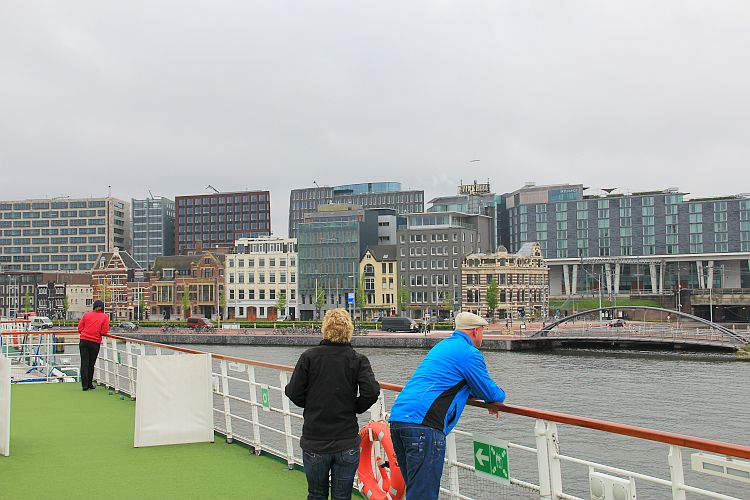 Flusskreuzfahrt Anlegen Amsterdam