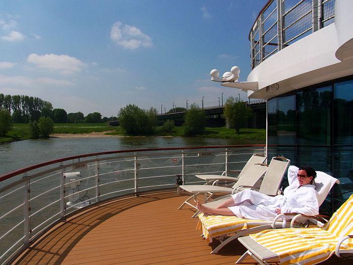 Flusskreuzfahrt Arosa Rhein Wellness