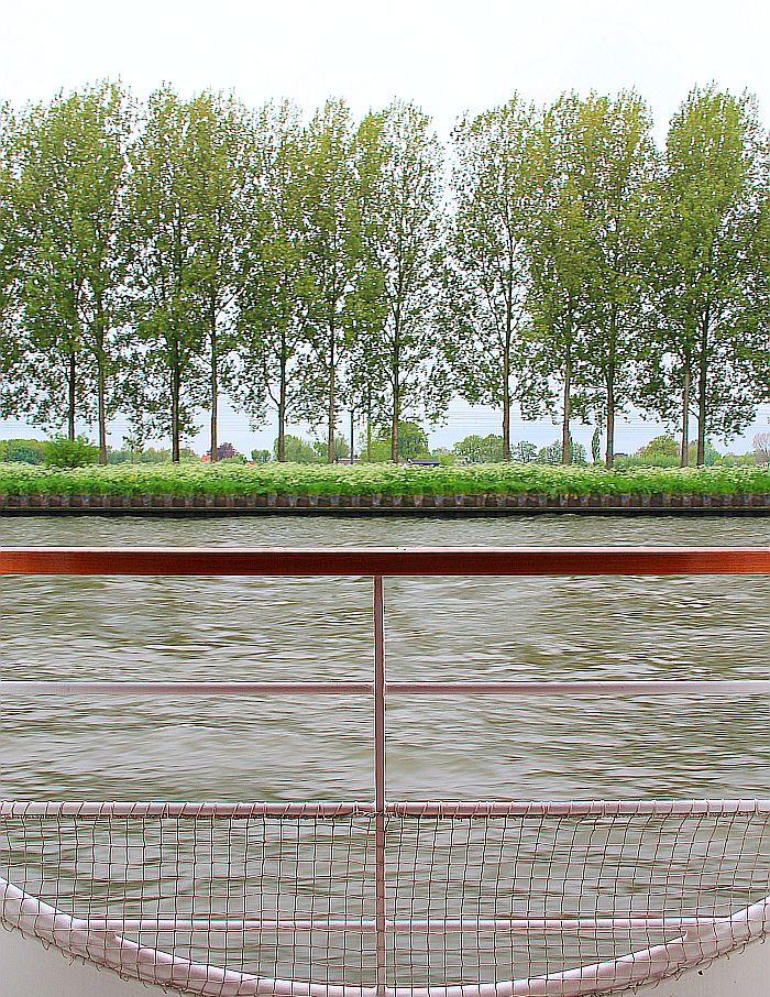 Flusskreuzfahrt Ausblick