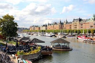 Stockholms malerische Hafenmeile