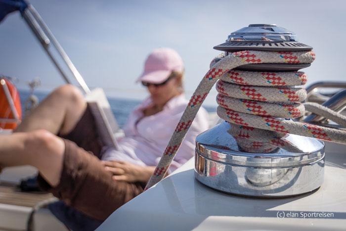elan_Ferien pur auf dem Wasser