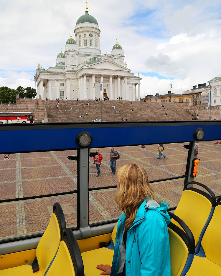 Helsinki Hop On Hop Off Bus Kathedrale Dom