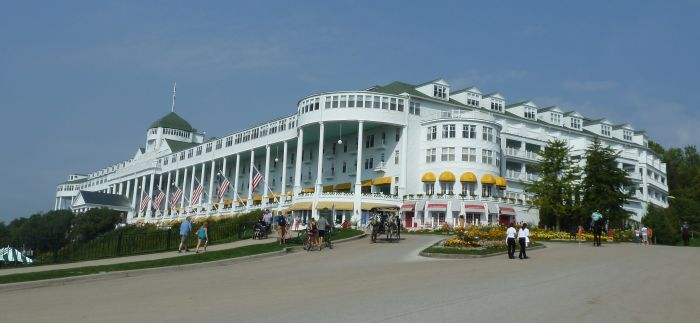 01 Grand Hotel Mackinac Island Michigan Außen