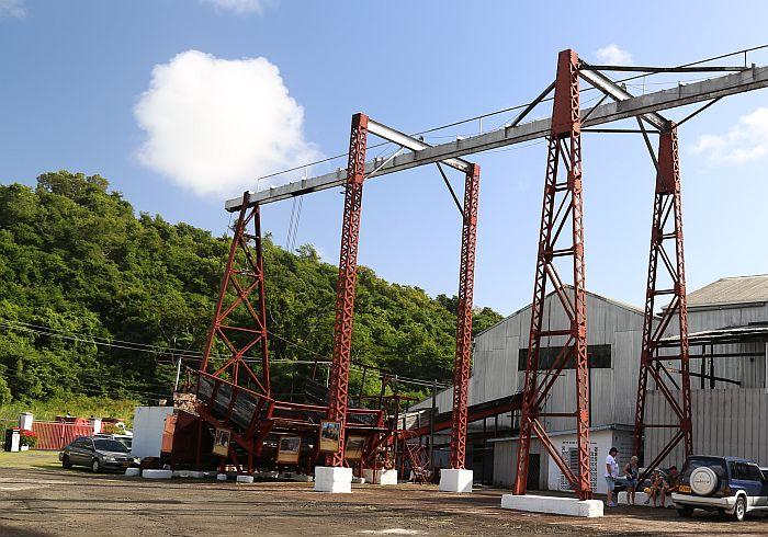Grenada Rum Fabrik Clarkes Court
