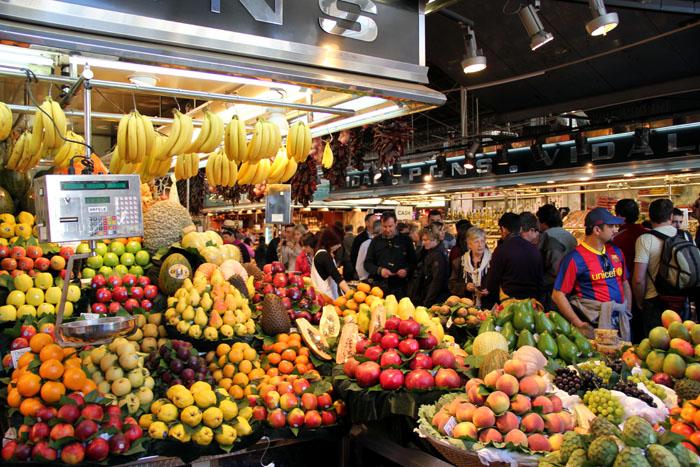 Barcelona-Mercat de la Boqueria