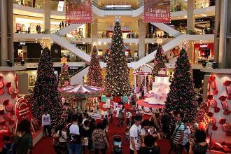 Weihnachten Kuala Lumpur Shopping