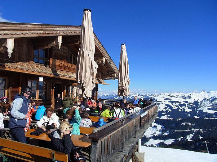 Alpbachtal Hütte Einkehrschwung