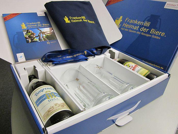 Biergeschenk Franken