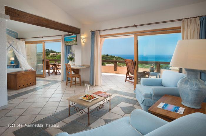 President suite Hotel Marinedda Thalasso & SPA