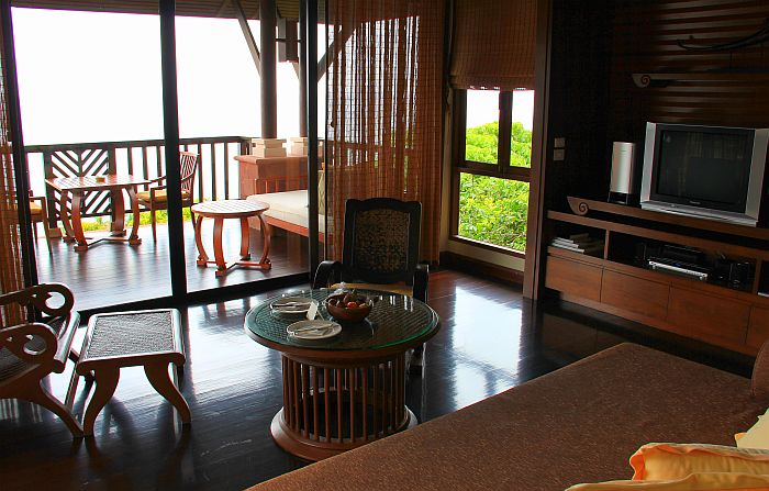 Pimalai Koh Lanta Thailand Poolvilla Living Room