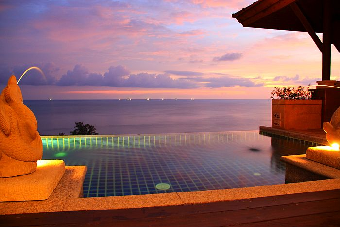 Pimalai Koh Lanta Thailand Poolvilla night