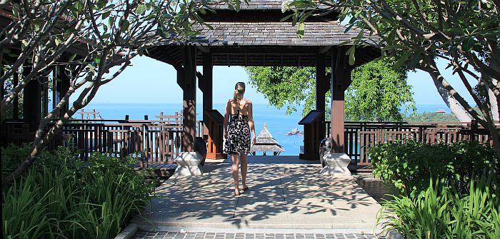 Pimalai Koh Lanta Thailand Terrasse