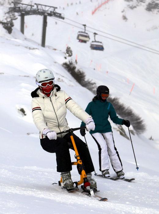 Snowbike_Obertauern_Abfahrt