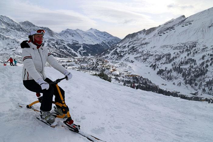 Snowbike_Obertauern_Blick über Obertauern