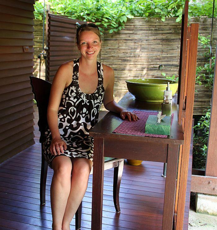 Zeavola Garden Villa Koh Phi Phi Terrasse