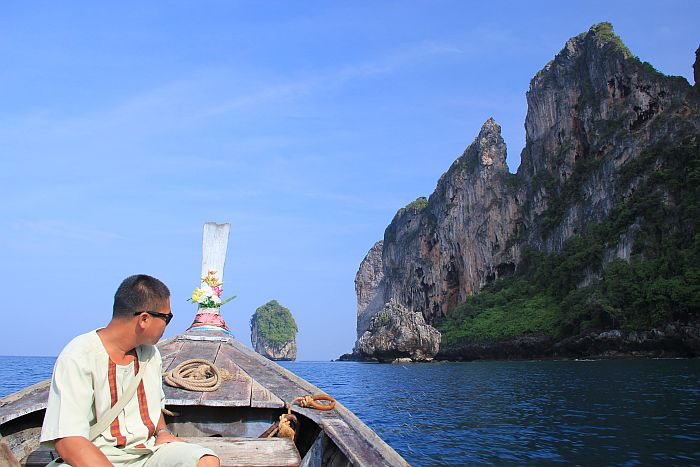 Zeavola Longtailboot Beach Koh Phi Phi