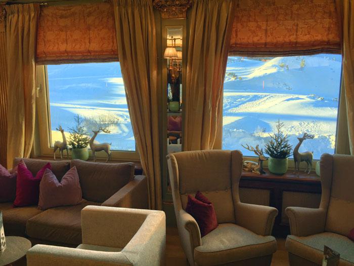 Hotel Steiner Sitzgruppe Lounge