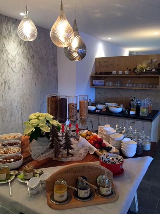La_Casies_Frühstücksbuffet