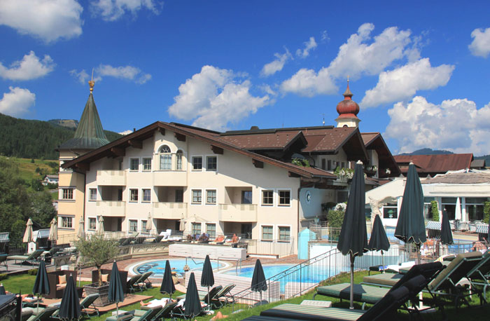 Reiters Posthotel Achenkirch Pool