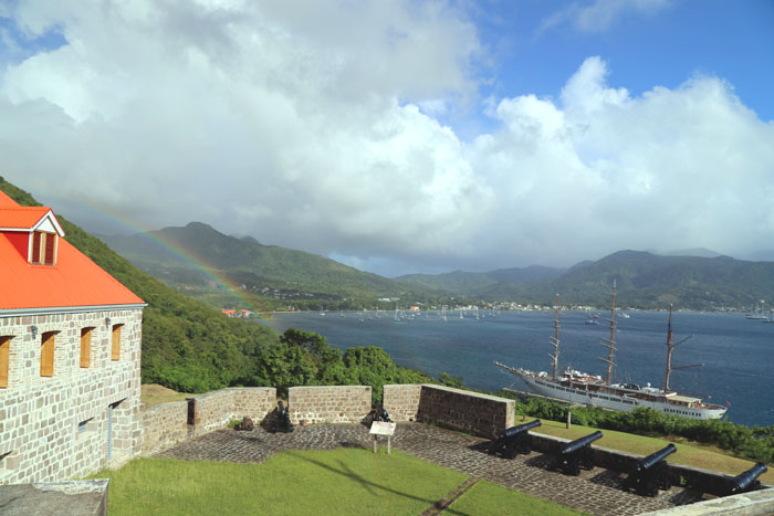 Dominica Fort Cabrits Portsmouth