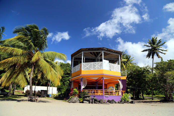 Dominica Beach Bar Portsmouth
