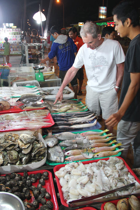Mui ne - Frischer Fisch auf den Tisch