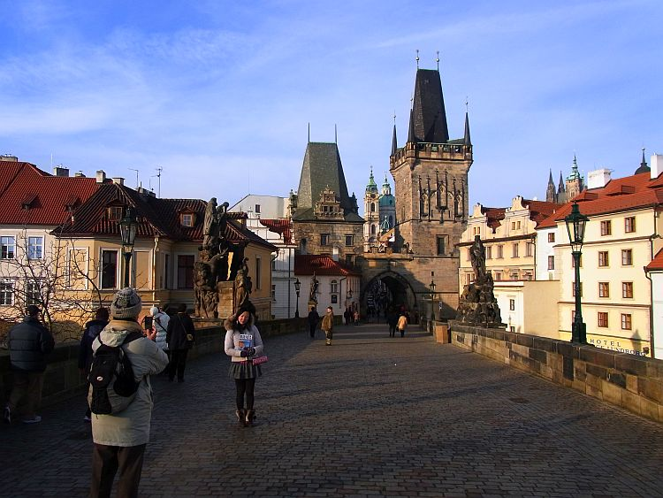 Prag Karlsbrücke Altstädter Turm