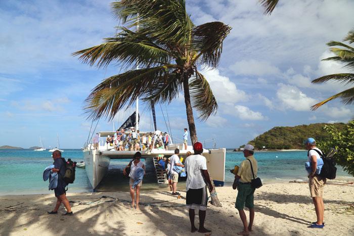 Tobago Cays Katamaran Strand Beach