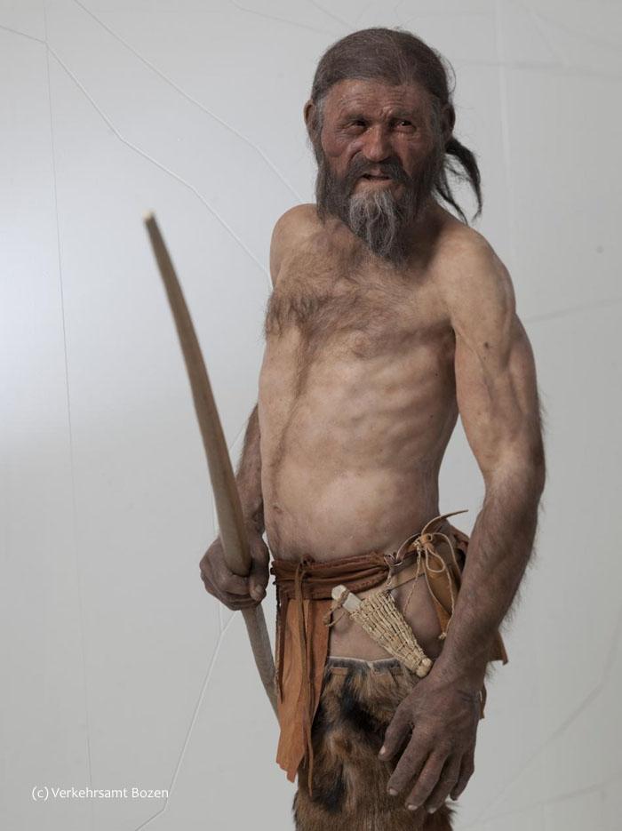 Bozen_Ötzi_neue_Rekontruktion