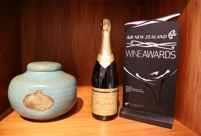 Nautilus Sparkling wine award