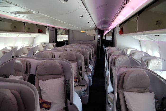 Air New Zealand Premium Economy Sitzreihen