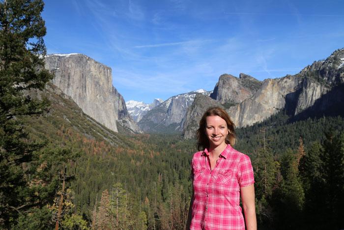 Yosemite Blick über das Tal2