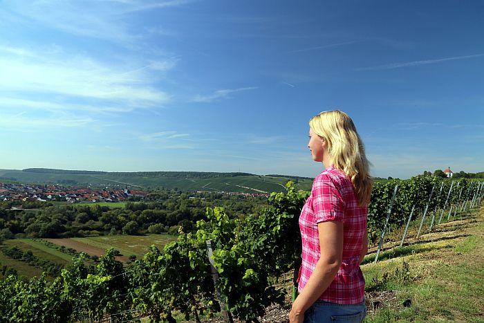 Franken Mainschleife Wandern Fränkisches Weinland