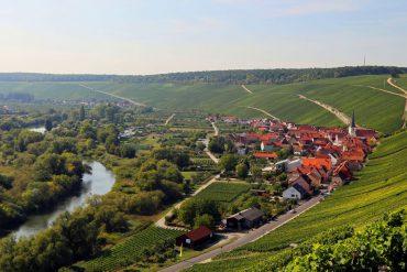 Wandern entlang der Mainschleife Kurzurlaub Franken