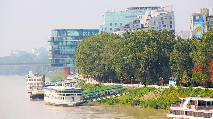 Bratislava Hotel Kempinski Boot Fähre