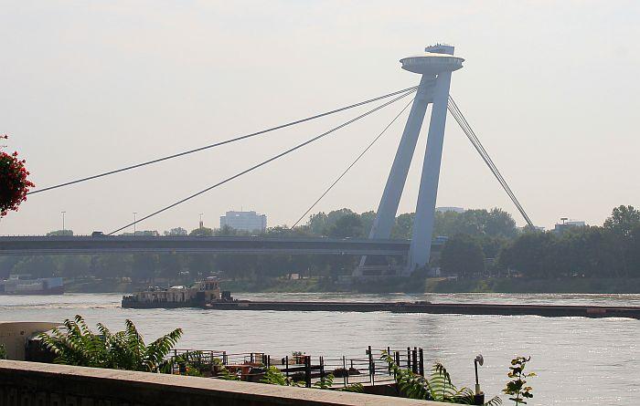 Bratislava Brücke Ufo